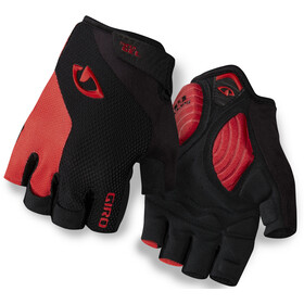Giro Strade Dure Supergel Cykelhandsker, black/bright red